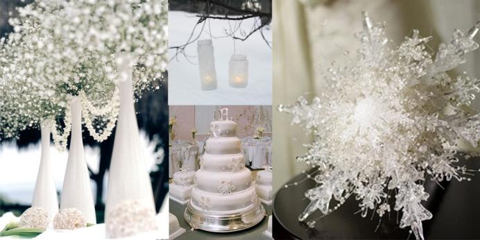 Snowflake Theme For Wedding