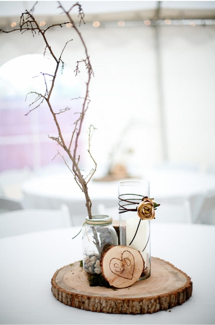 Winter wedding decorations from the forest wedding for Decoration decoration