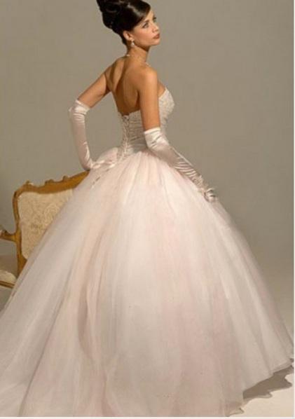 Royal ball gown wedding dress