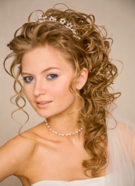 curly romantic hair