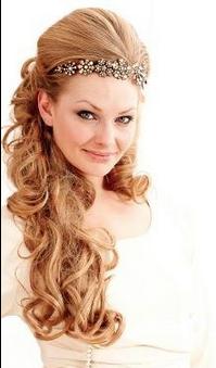 fairytale hair wedding