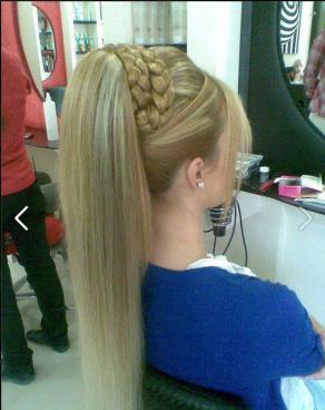trendy hair crown