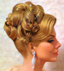 vintage hairstyle 1960's