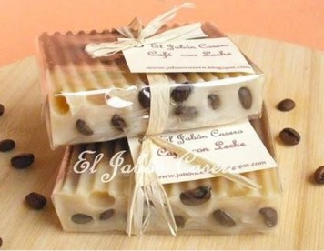 Colombian artisan coffee soap
