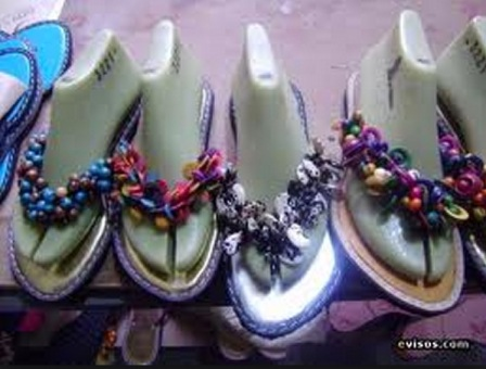 Colombian artisan decorative sandals