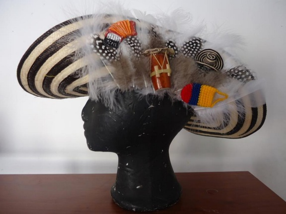 Colombian carneval hat