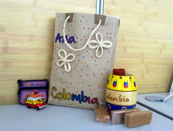 Colombian eco wedding favor