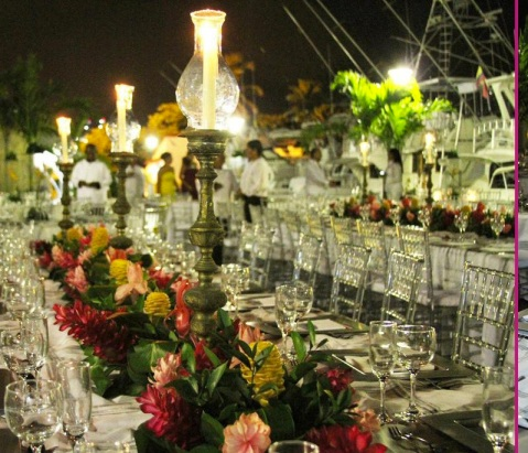 exotic luxury wedding