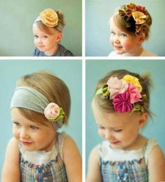 flower girls hairstyle