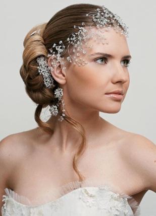 hair jewelry wedding style