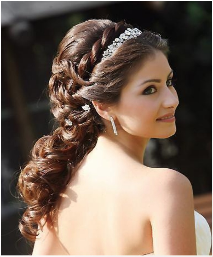 Pick The Best Ideas For Your Trendy Bridal Hairstyle Wedding