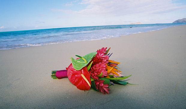 exotic bridal bouquett