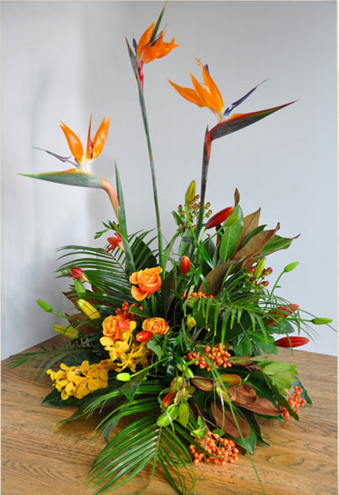 heliconia flower wedding