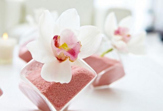 Orchid wedding decoration